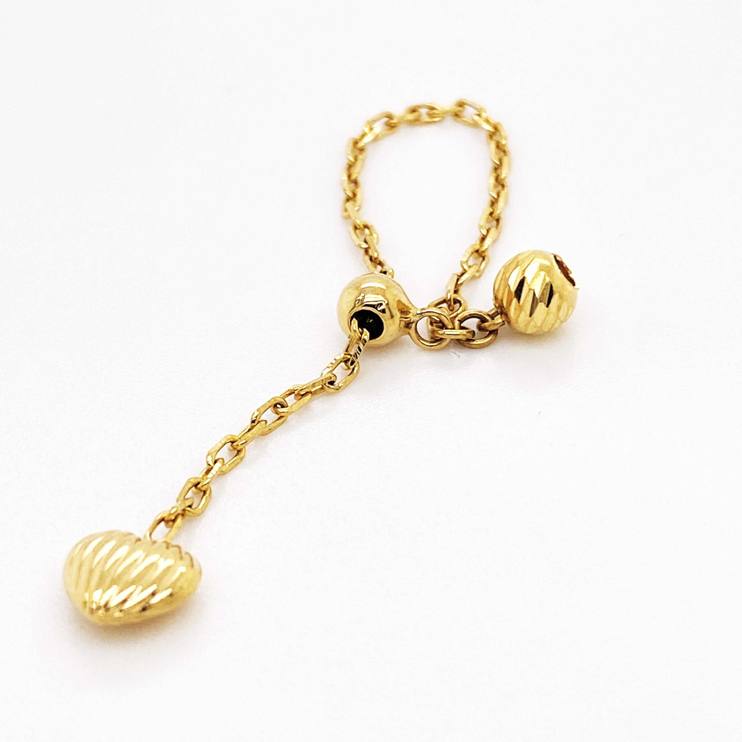 0.82 grams 18k SD Gold Adjustable ring